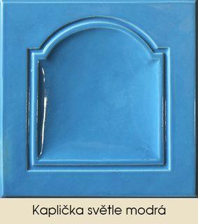 Kaplička světle modrá