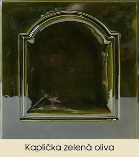 Kaplička zelená oliva