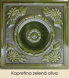 Kopretina zelená oliva
