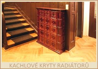 Kachlové kryty stávajících radiátorů