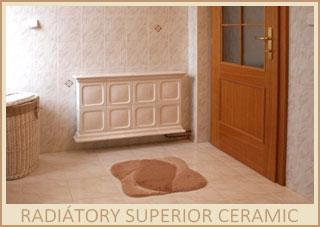 Kachlové radiátory Superior Ceramik